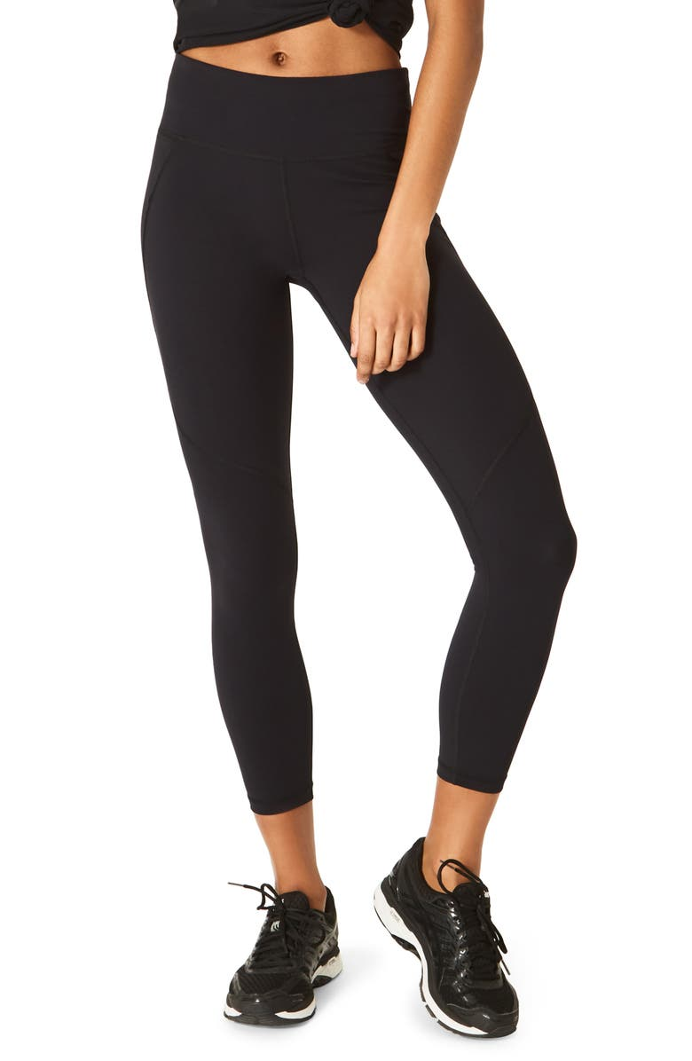 SWEATY BETTY Power 7/8 Technical Leggings, Main, color, 001
