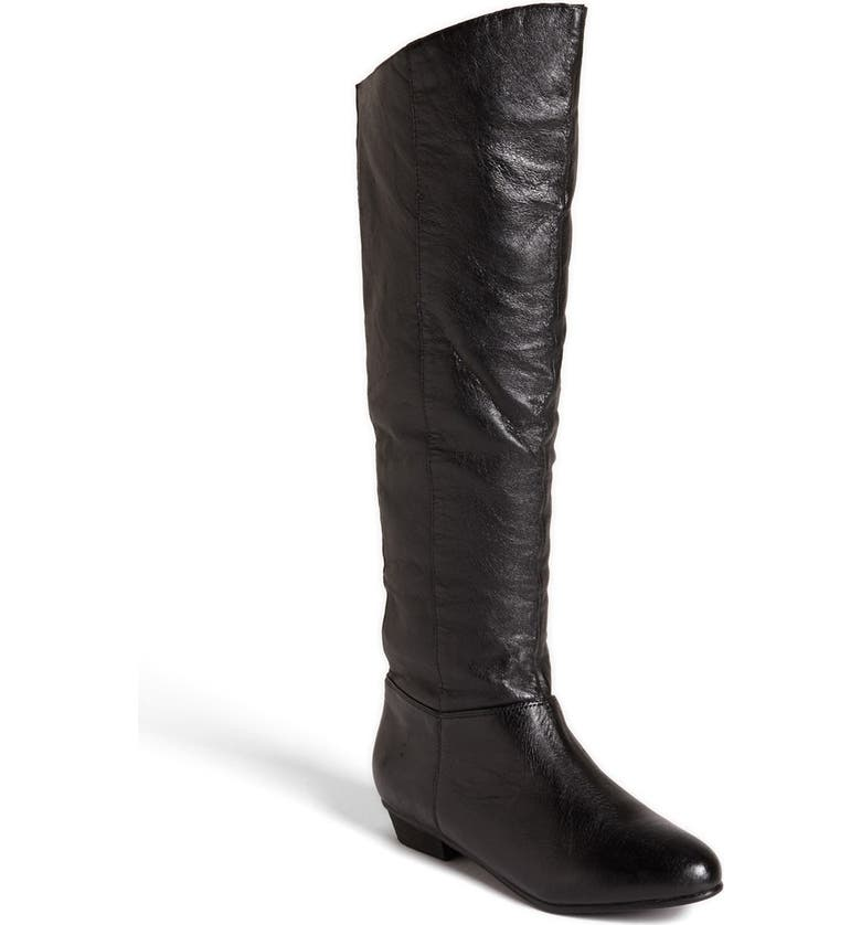 STEVE MADDEN 'Creation' Boot, Main, color, BLACK LEATHER
