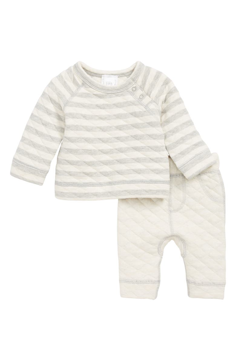 NORDSTROM Baby Quilted Top & Pants Set, Main, color, 050