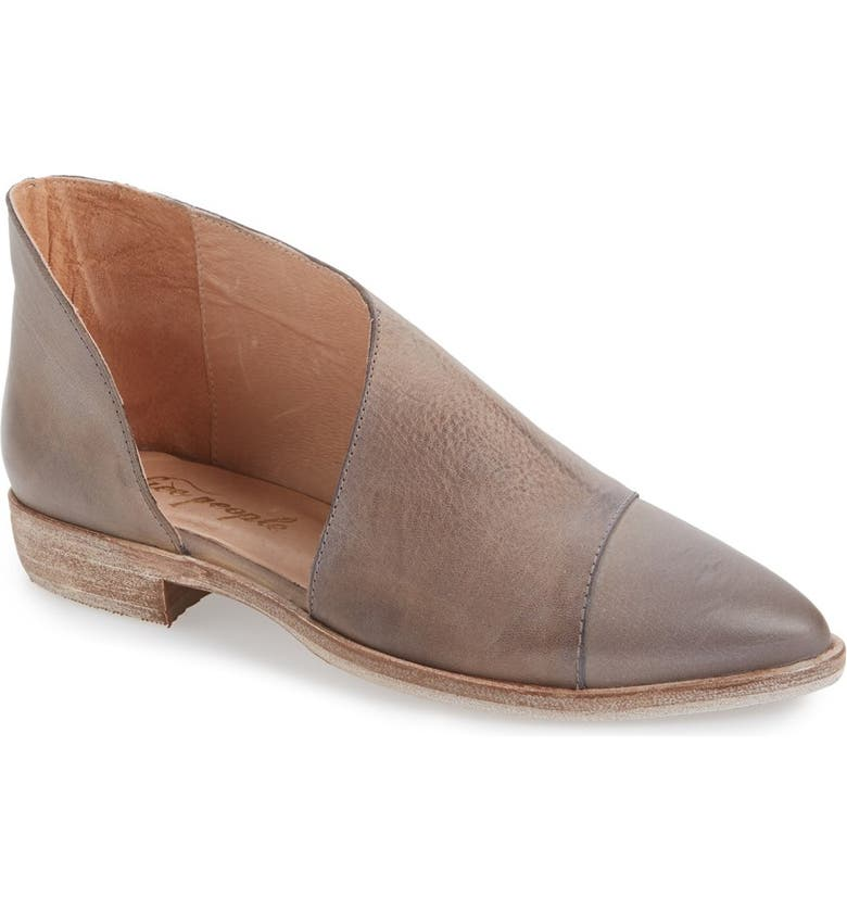 FREE PEOPLE Royale Asymmetrical Flat, Main, color, 030