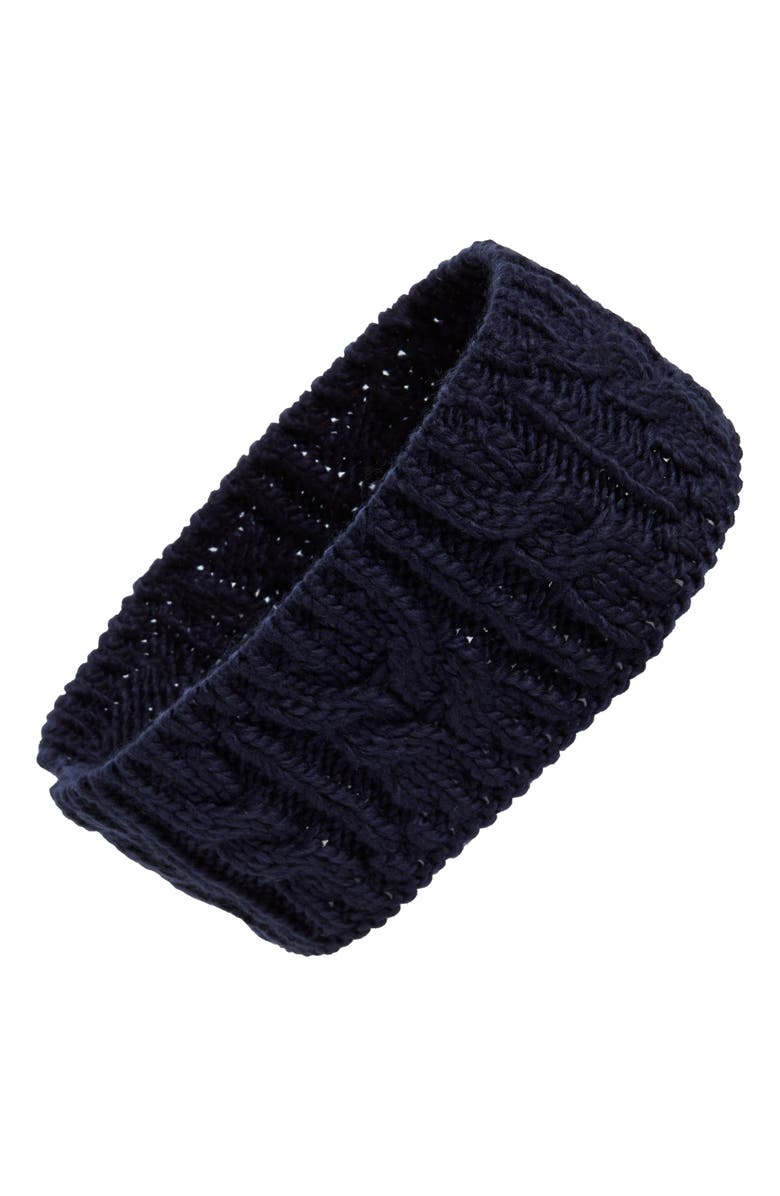 BP. Cable Knit Headband, Main, color, 401