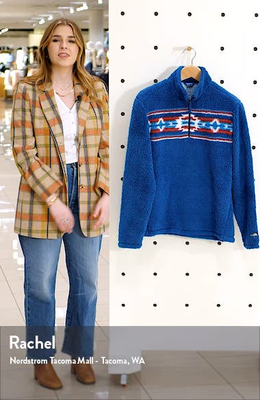 One Prize Fits All Fleece Half-Zip Pullover, sales video thumbnail