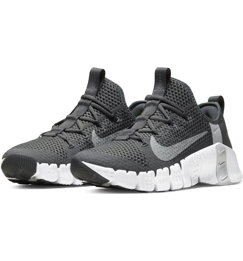 NIKE Free Metcon 3 Training Shoe, Main, color, IRON GREY/ GREY