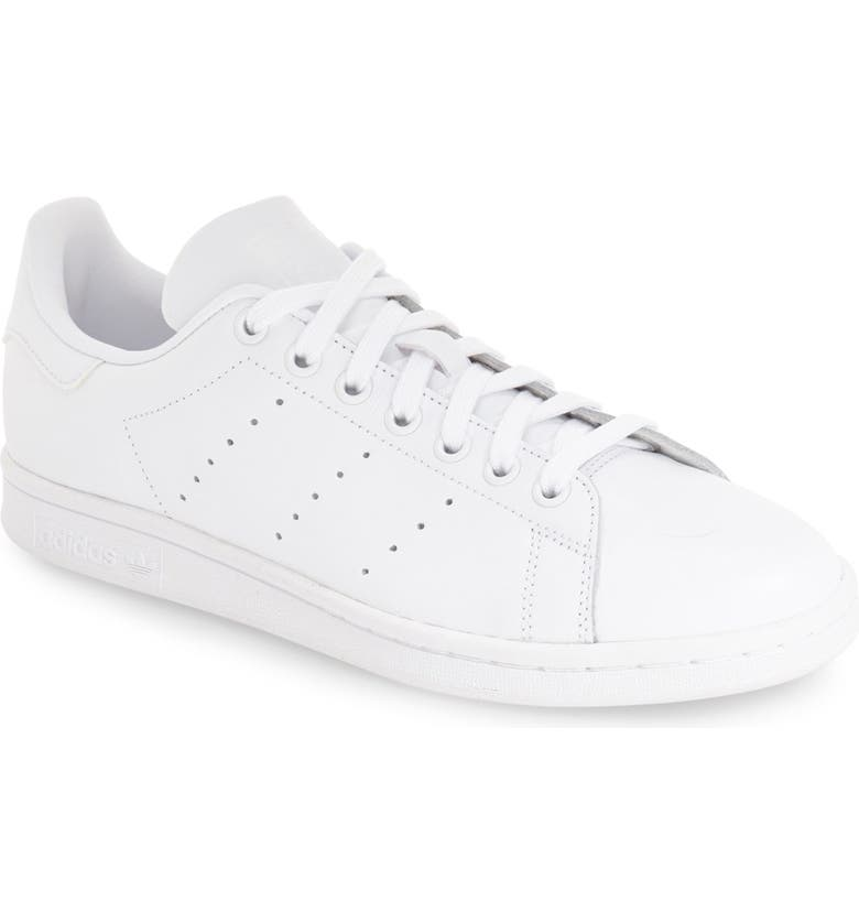 ADIDAS Stan Smith Low Top Sneaker, Main, color, FTWR WHITE/ FTWR WHITE