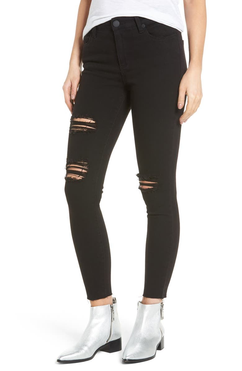 STS BLUE Ashley High Waist Ankle Skinny Jeans, Main, color, 001