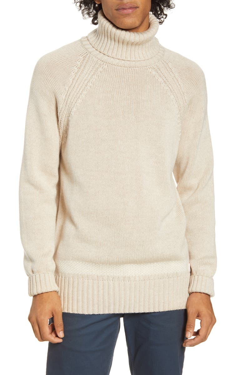 SCOTCH & SODA Turtleneck Wool Sweater, Main, color, 260