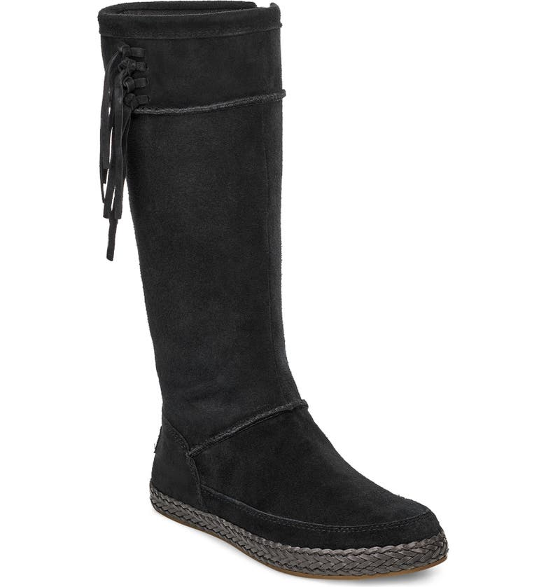 UGG<SUP>®</SUP> Emerie Tall Boot, Main, color, 001