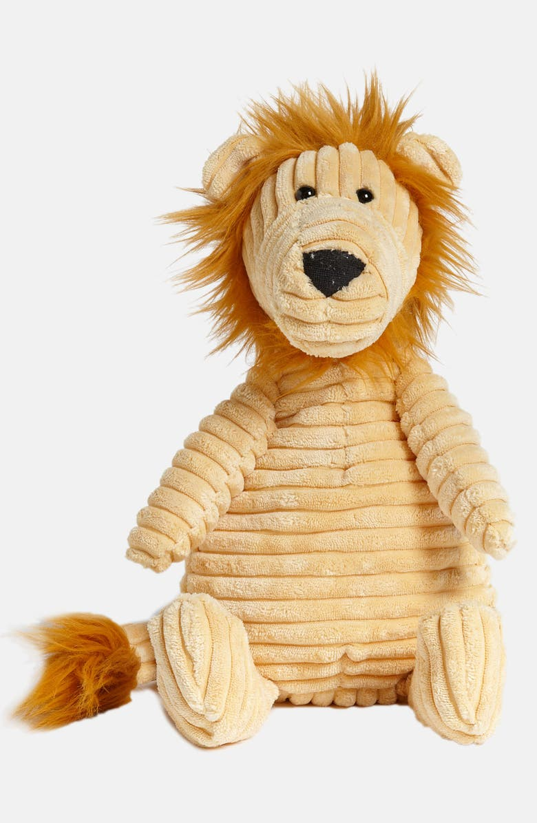 JELLYCAT 'Cordy Roy Lion' Stuffed Animal, Main, color, Gold