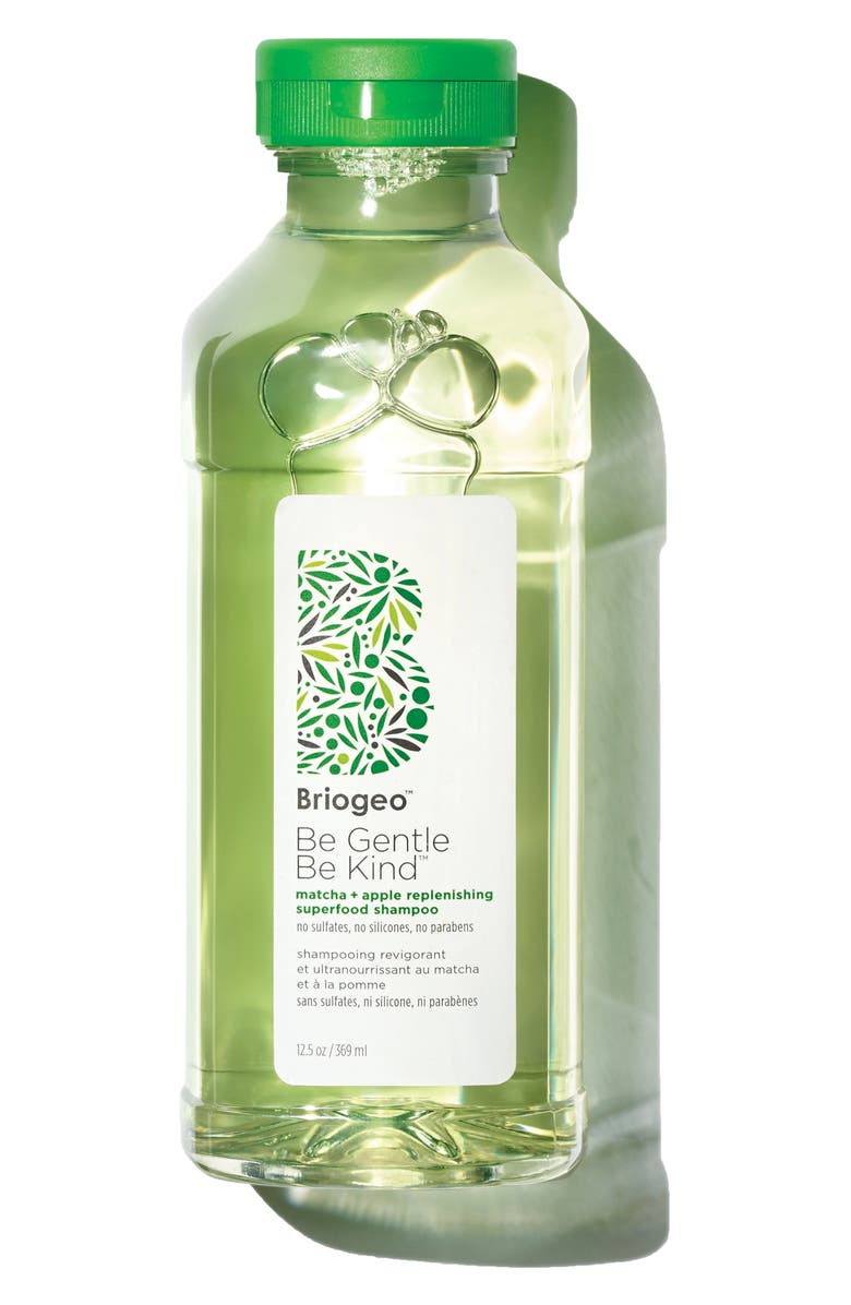 BRIOGEO Be Gentle, Be Kind Matcha + Apple Replenishing Superfood Shampoo, Main, color, NO COLOR
