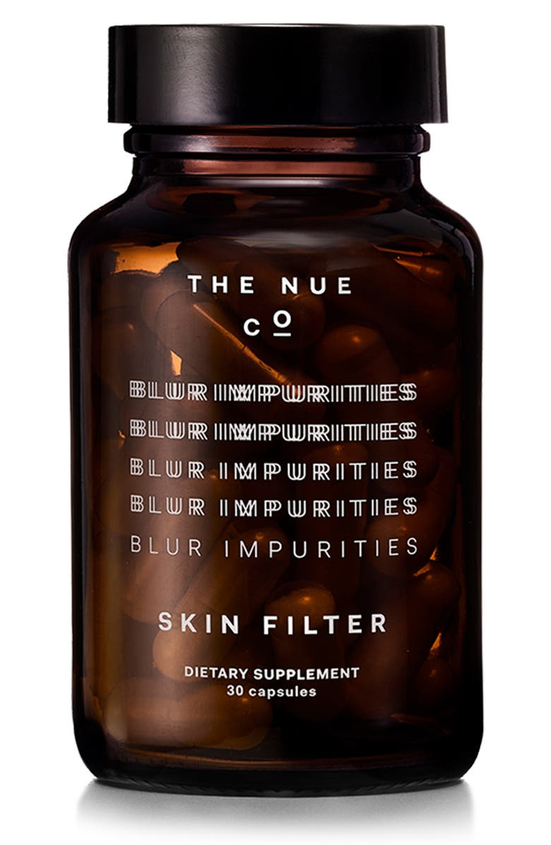 THE NUE CO Skin Filter Dietary Supplement, Main, color, No Color