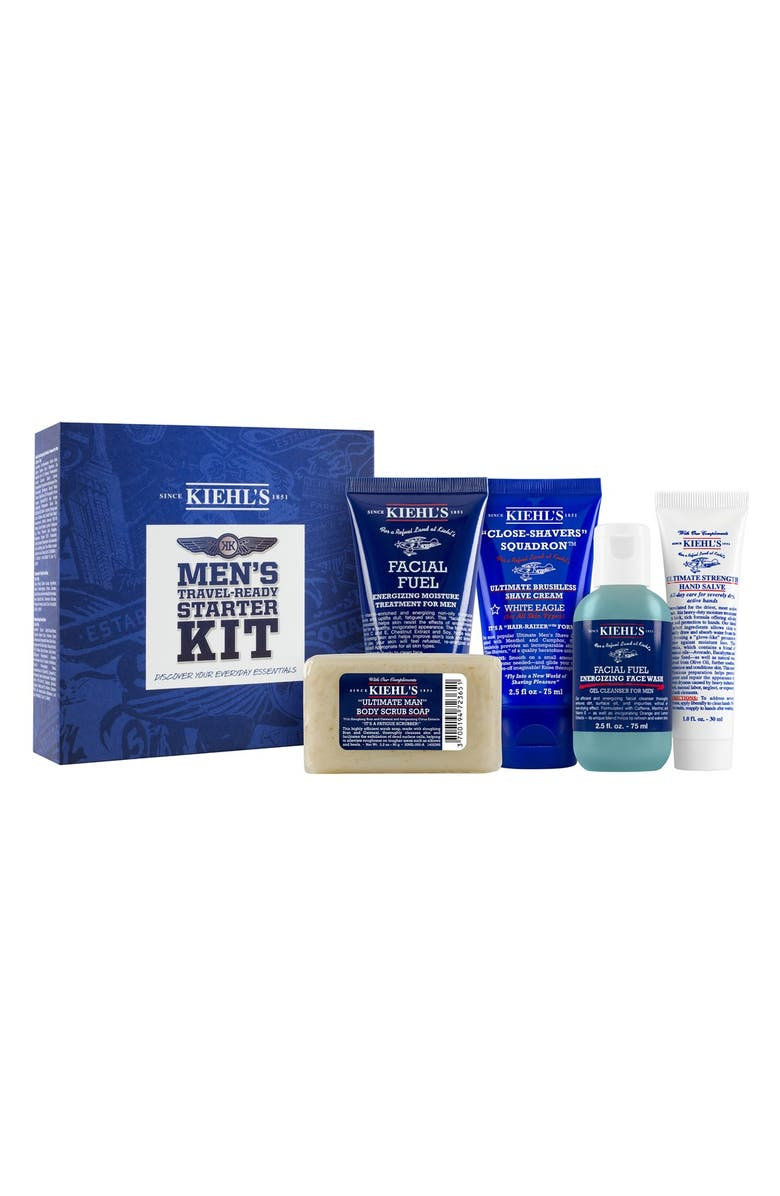 KIEHL'S SINCE 1851 Men's Starter Kit, Main, color, 000