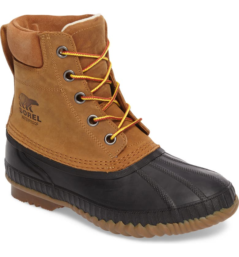 SOREL Cheyanne II Insulated Waterpoof Boot, Main, color, CHIPMUNK