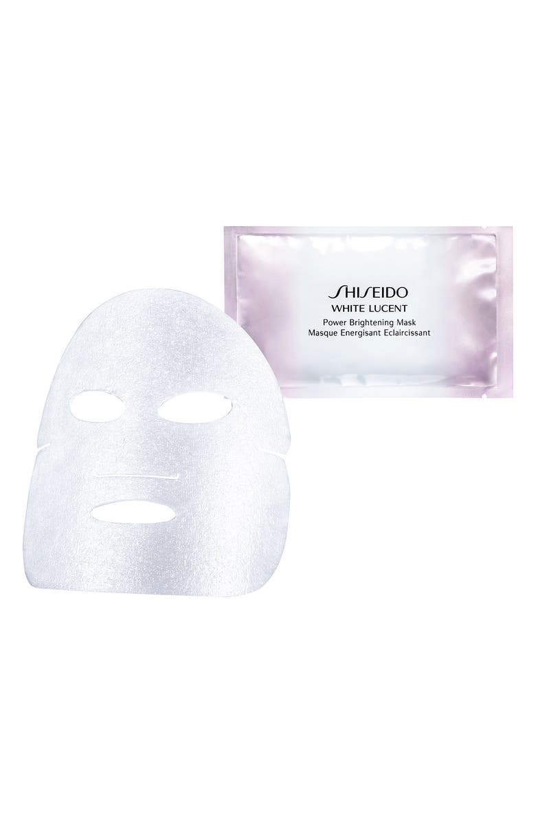 SHISEIDO White Lucent Power Brightening Mask, Main, color, NO COLOR