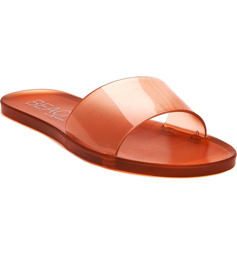 COCONUTS BY MATISSE Sol Side Sandal, Main, color, AMBER