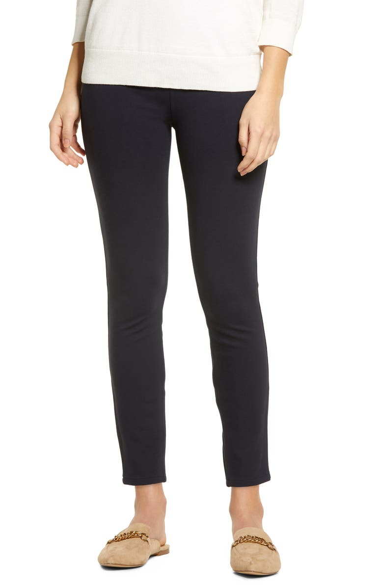 SPANX<SUP>®</SUP> The Perfect Black Pants Four-Pocket Ankle Pants, Main, color, CLASSIC NAVY