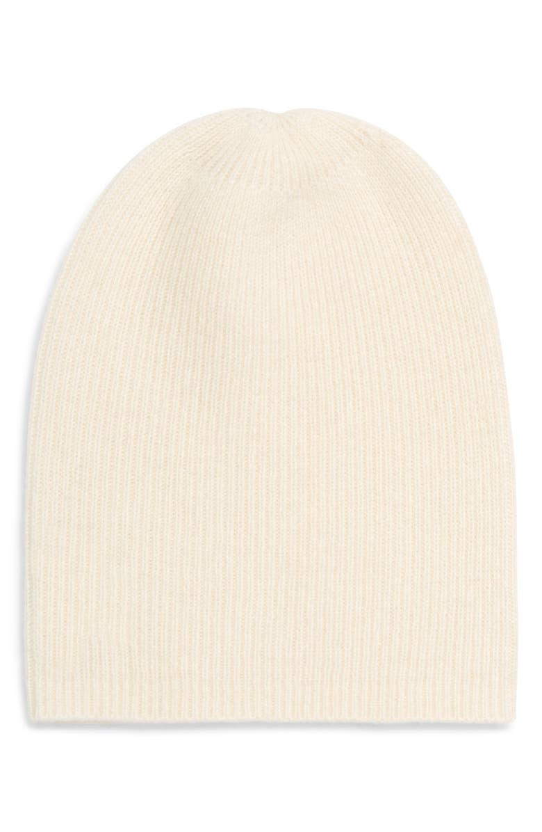 HALOGEN<SUP>®</SUP> Slouchy Cashmere Beanie, Main, color, 901
