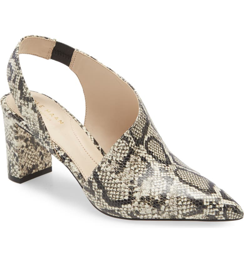 COLE HAAN Vania Pump, Main, color, SNAKE PRINT LEATHER