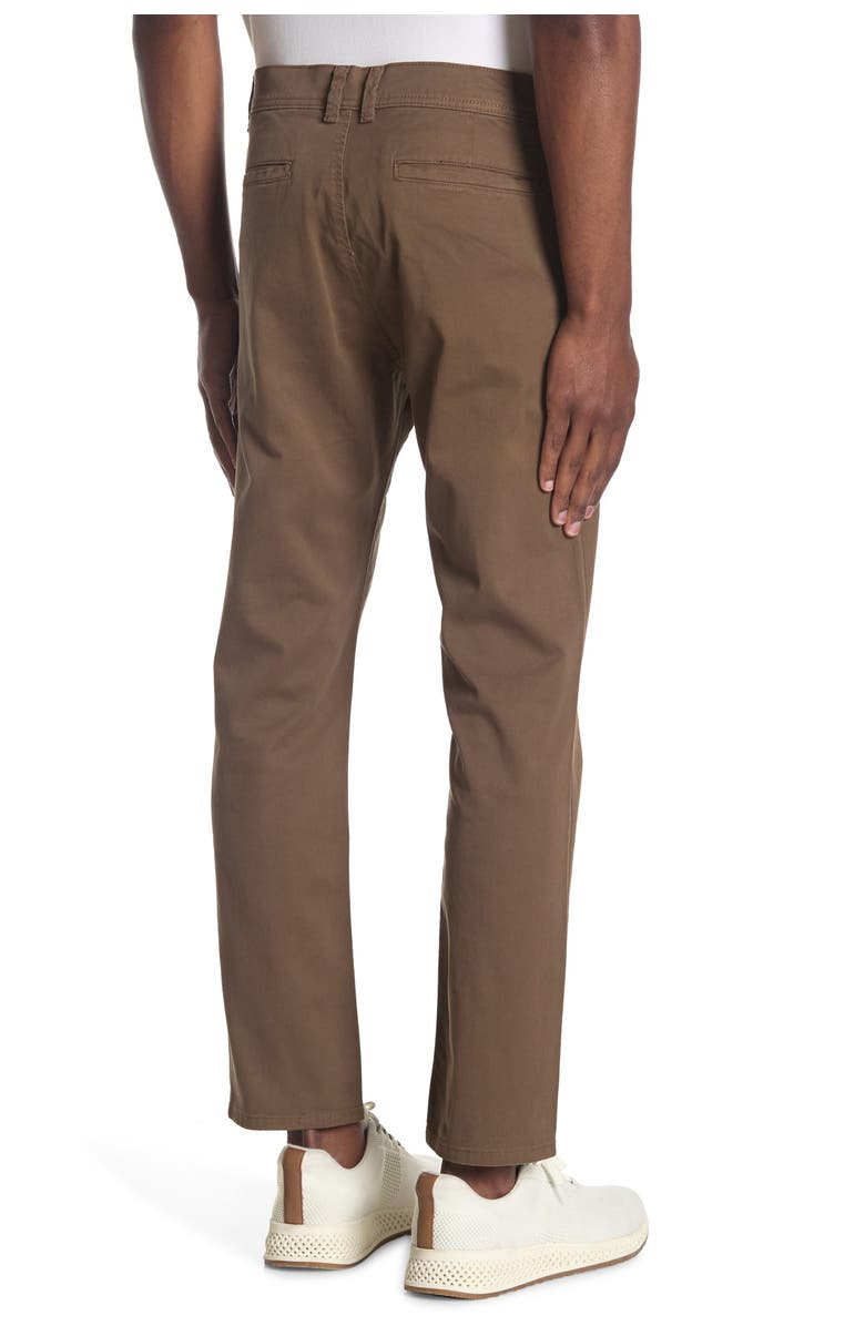 DL 1961 Duke Tailored Chino Pants, Main, color, OLIVE DRAB