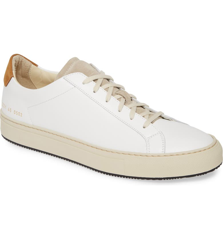 COMMON PROJECTS Retro Low Special Edition Sneaker, Main, color, 100