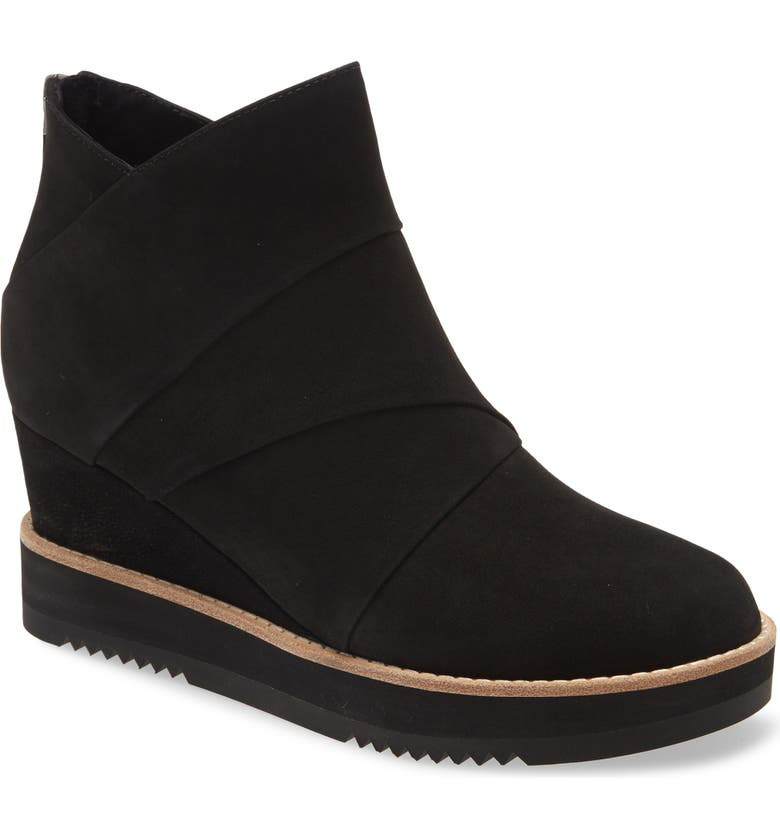 EILEEN FISHER Clapton Wedge Bootie, Main, color, 001
