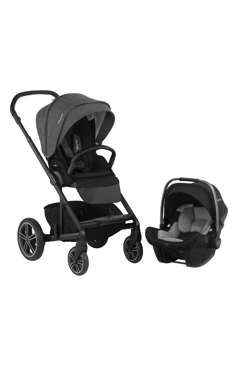 NUNA 2019 MIXX<sup>™</sup> Stroller & PIPA<sup>™</sup> Lite LX Infant Car Seat Set Travel System, Main, color, 001