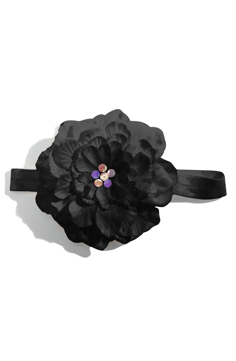 PLH BOWS Flower Headband, Main, color, 010