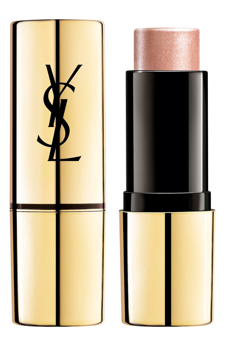 YVES SAINT LAURENT Touche Eclat Shimmer Stick Highlighter, Main, color, N3 ROSE GOLD