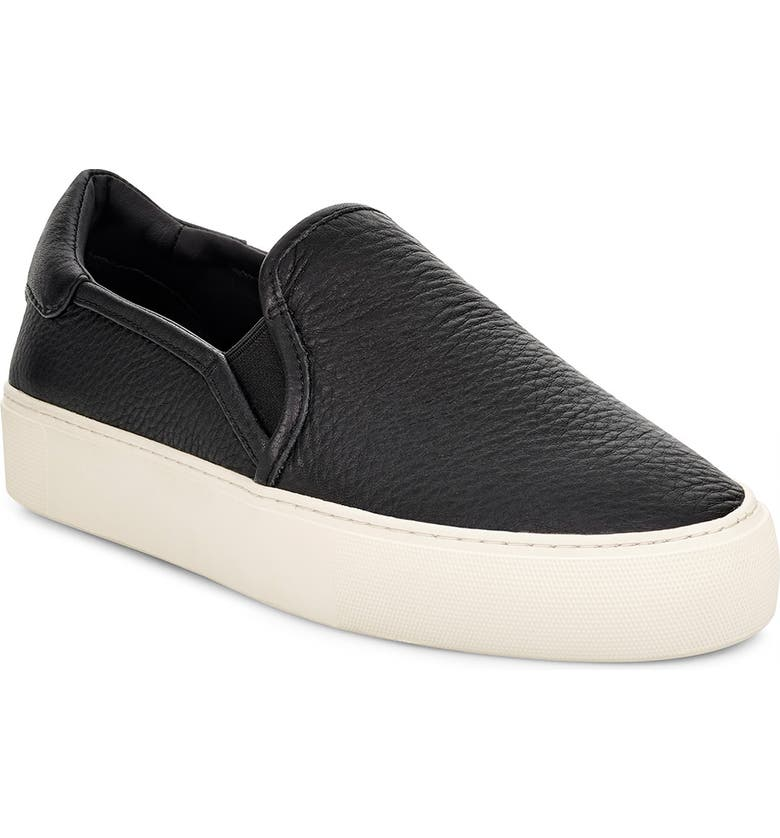 UGG<SUP>®</SUP> Jass Slip-On Sneaker, Main, color, 001