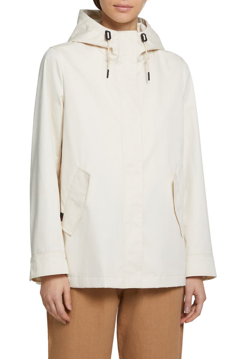 WOOLRICH Lilac Water Repellent Raincoat, Main, color, SAND DUNE