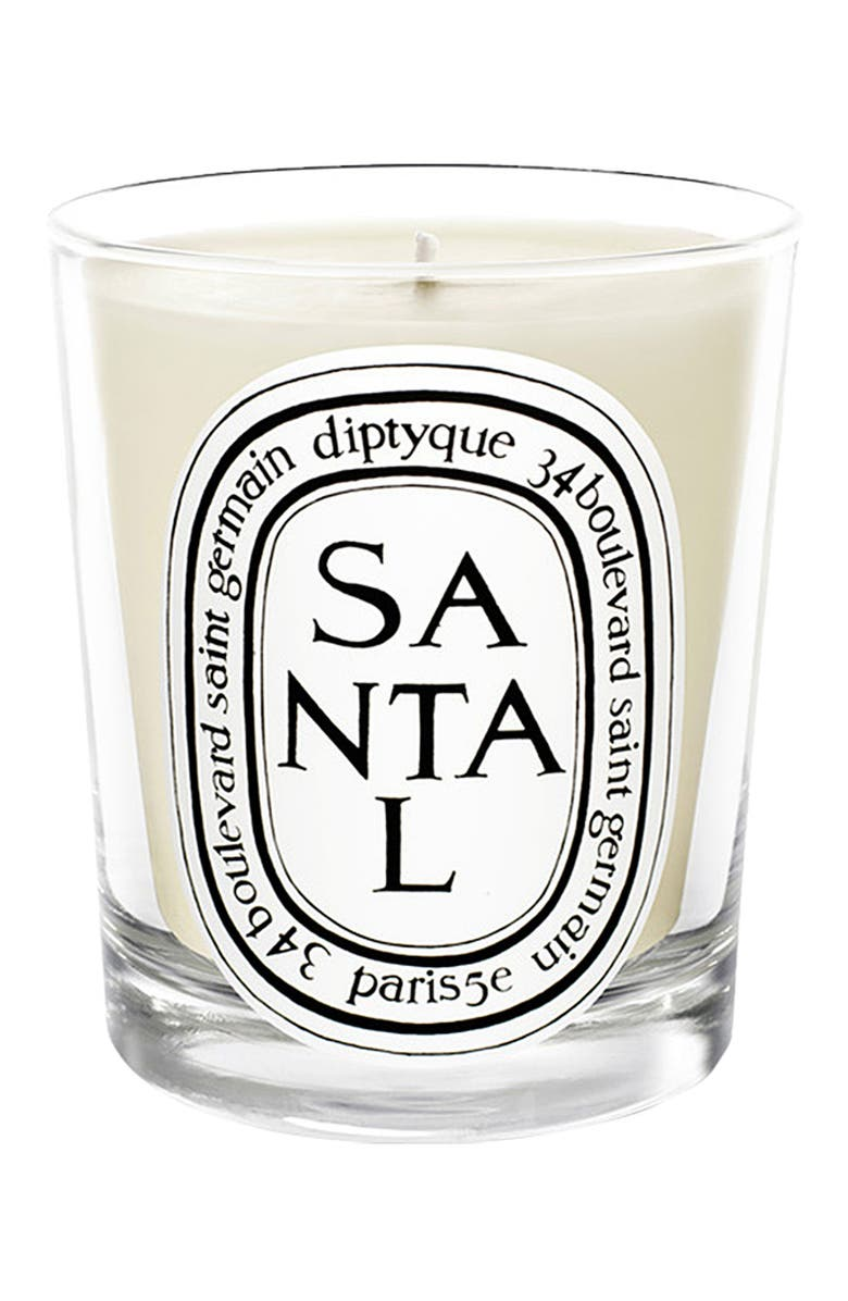 DIPTYQUE Santal/Sandalwood Scented Candle, Main, color, NO COLOR