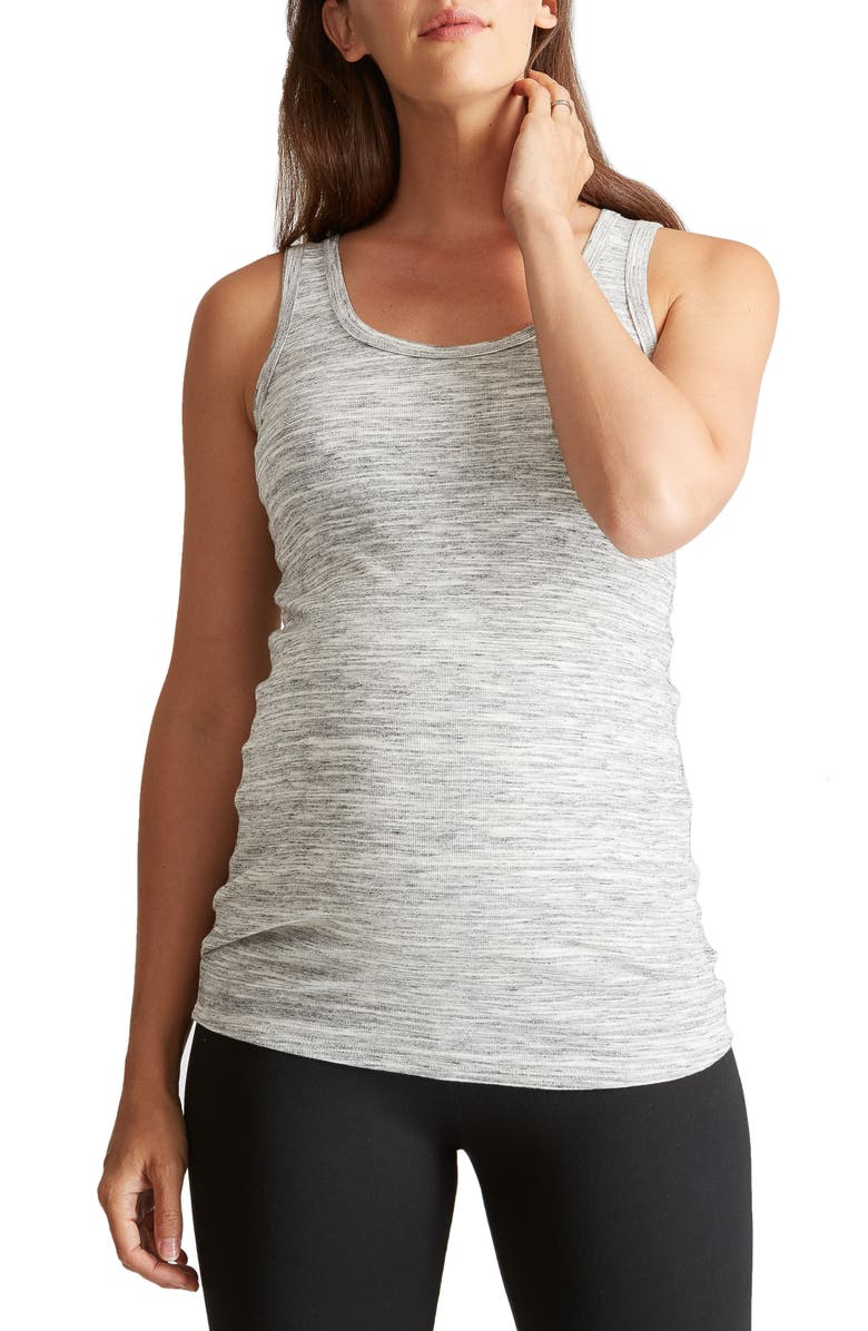 INGRID & ISABEL<SUP>®</SUP> Scoop Neck Maternity Tank, Main, color, 060