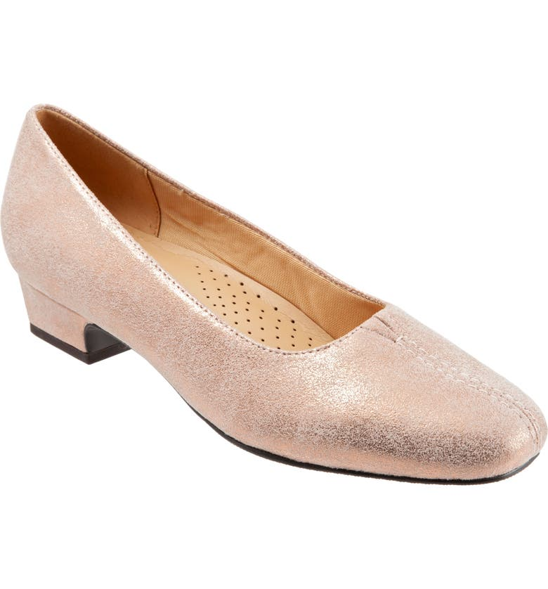 TROTTERS 'Doris' Pump, Main, color, ROSE LEATHER