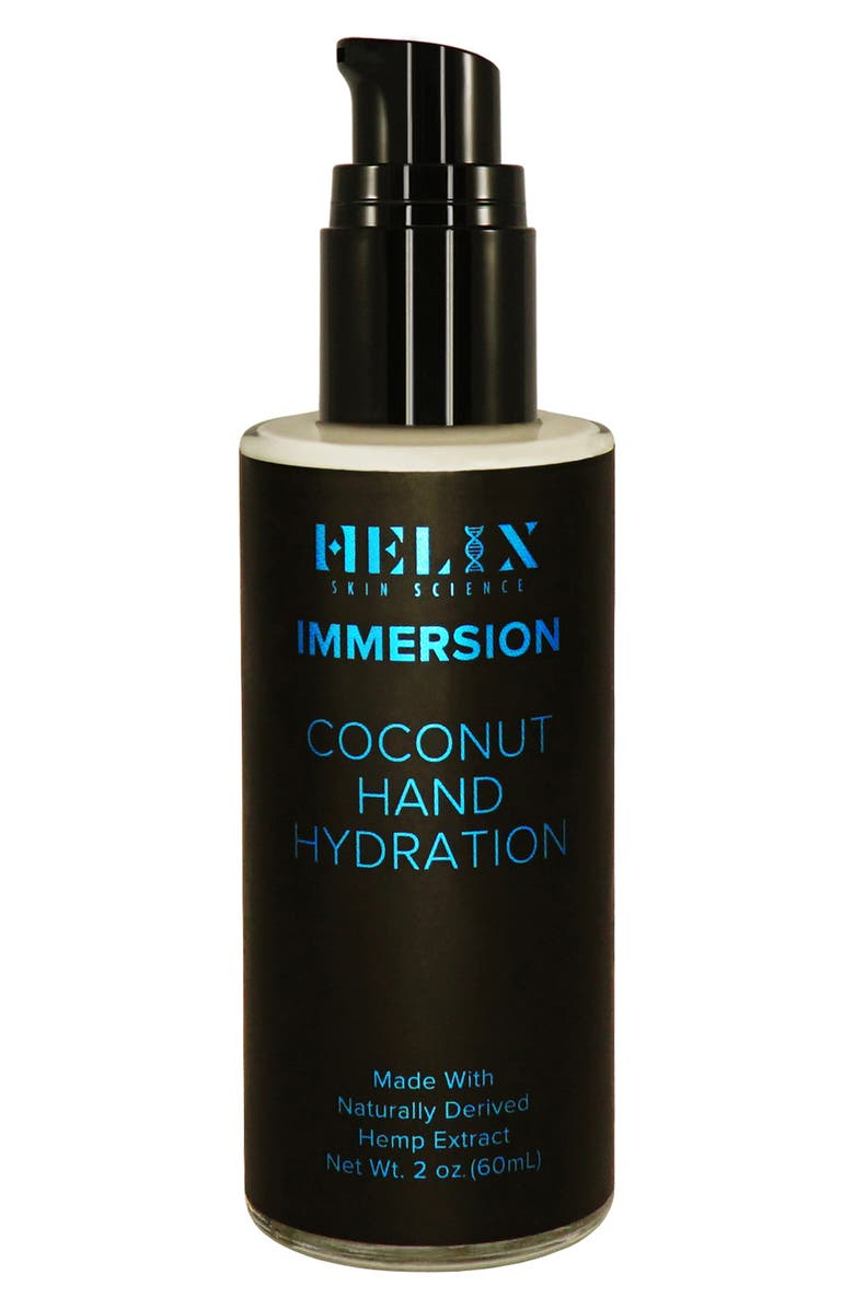 HELIX SKIN SCIENCE Immersion Coconut Hand Hydration with CBD, Main, color, 000