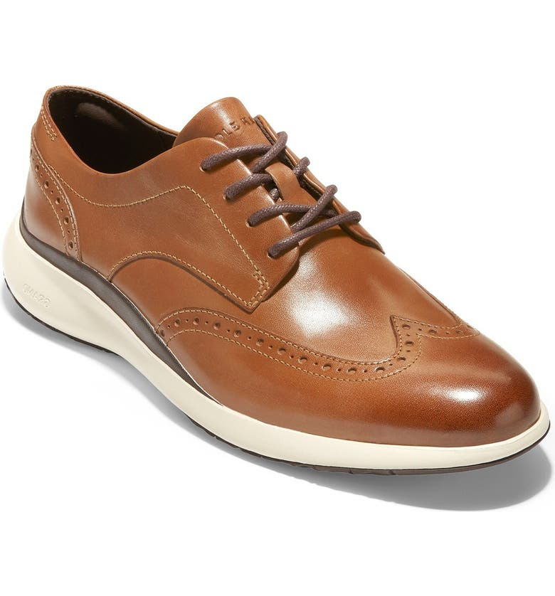 COLE HAAN Grand Troy Wing Derby, Main, color, BRITISH TA