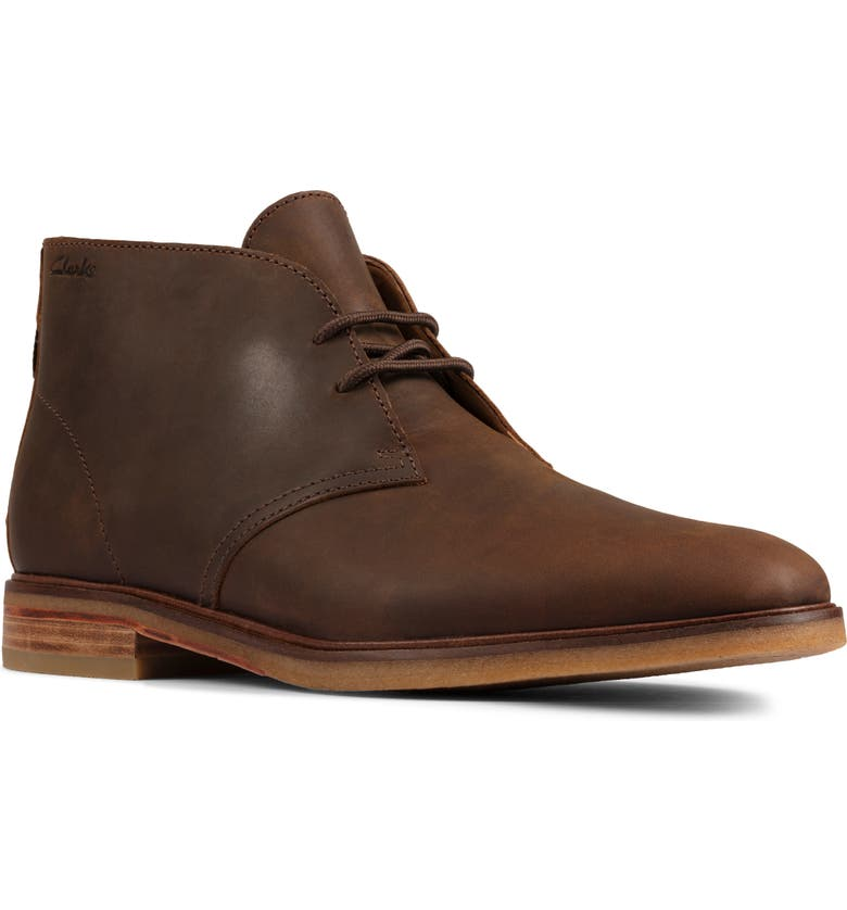 CLARKS<SUP>®</SUP> Clarkdale Chukka Boot, Main, color, BEESWAX LEATHER