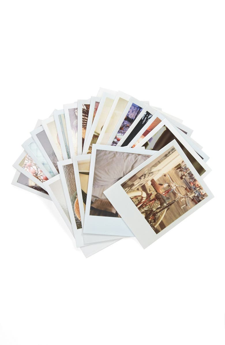 CHRONICLE BOOKS 'Polaroid Love' Note Cards, Main, color, 100