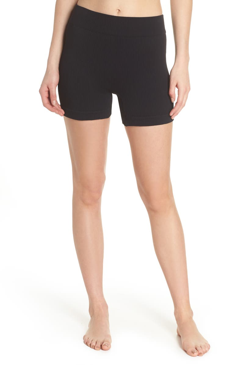 FREE PEOPLE FP MOVEMENT Seamless Shorts, Main, color, 001