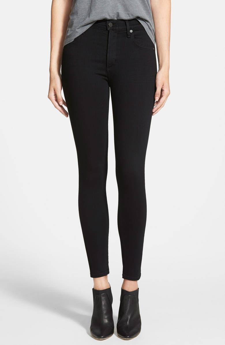 CITIZENS OF HUMANITY 'Rocket' High Rise Skinny Jeans, Main, color, 010