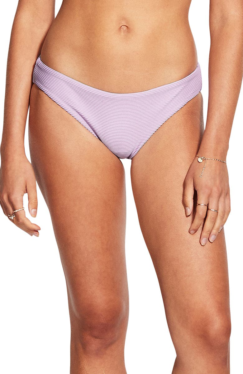 SEAFOLLY Essentials Hipster Bikini Bottoms, Main, color, LILAC