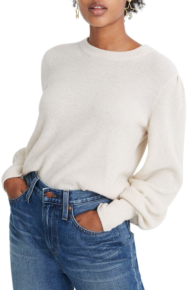 MADEWELL Baybrook Pullover Sweater, Main, color, 020