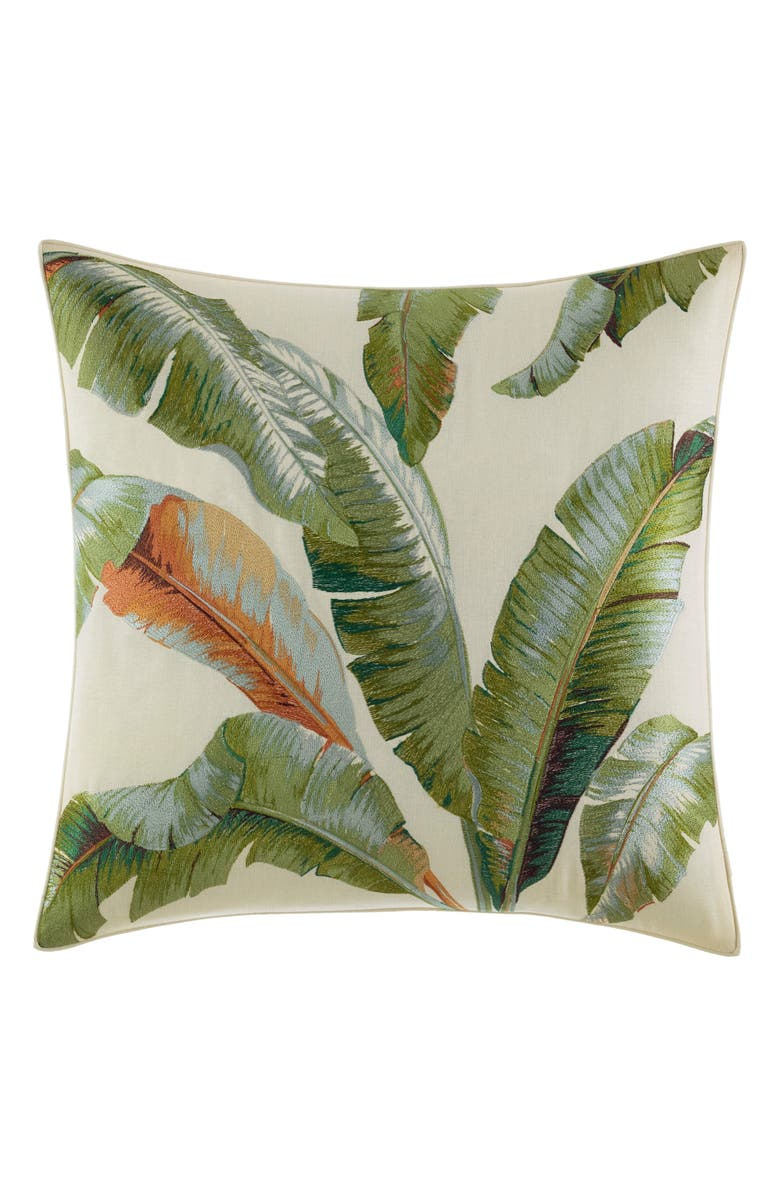 TOMMY BAHAMA Palmiers Pillow, Main, color, 355