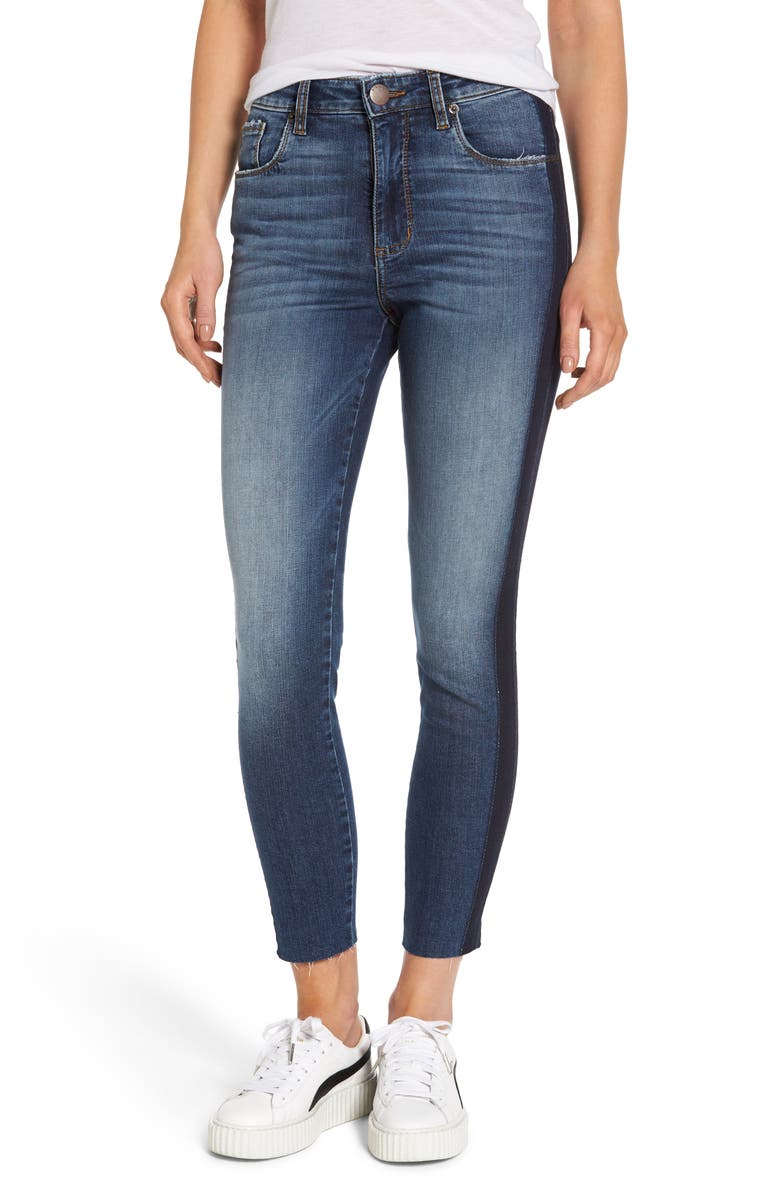 STS BLUE Ashley High Waist Crop Skinny Jeans, Main, color, TREMONT