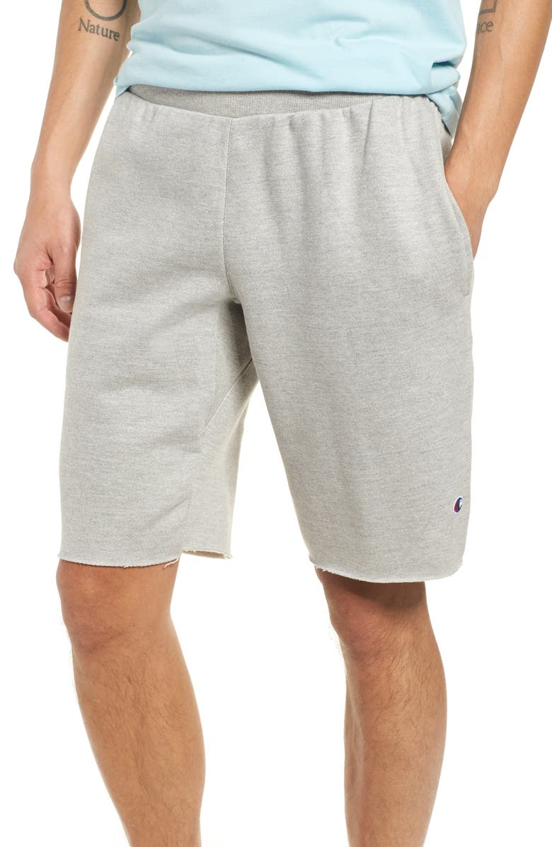 CHAMPION Reverse Weave<sup>®</sup> Shorts, Main, color, OXFORD GRAY