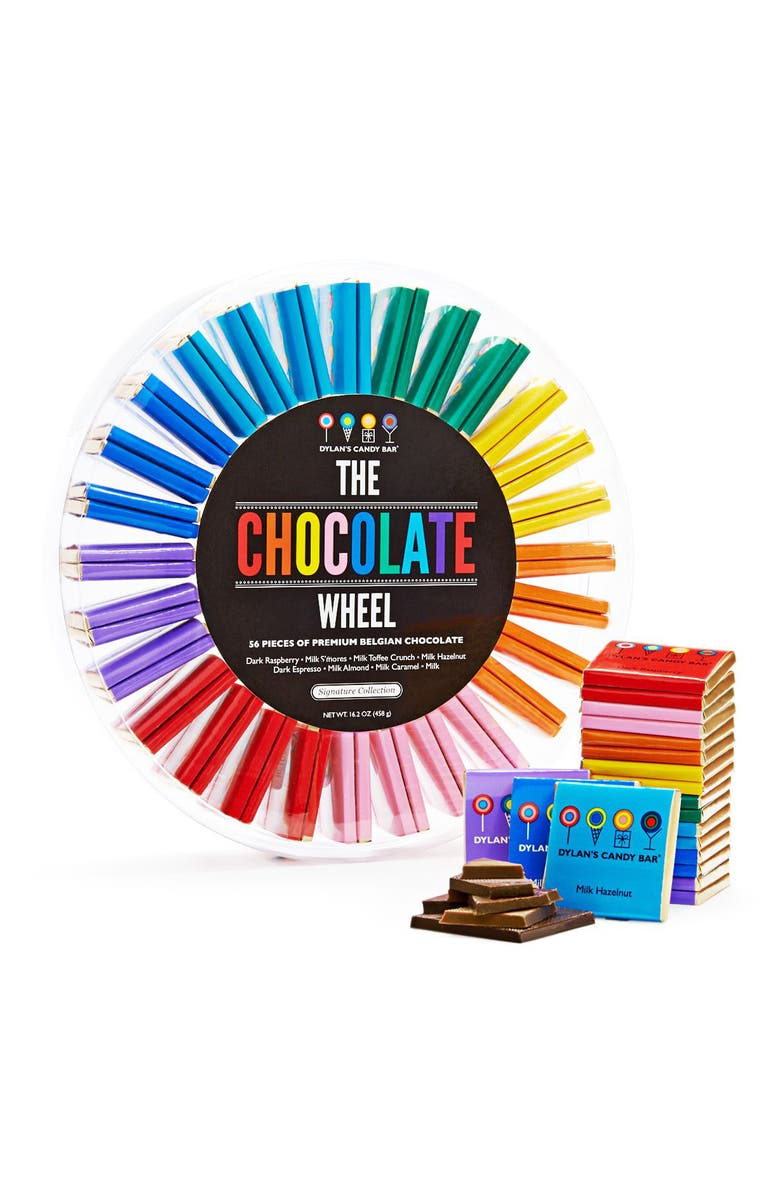 DYLAN'S CANDY BAR Signature Chocolate Wheel, Main, color, BLUE MULTI