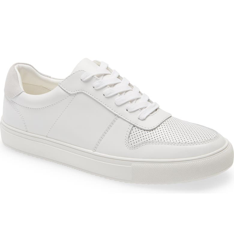 BP. Nash Court Sneaker, Main, color, WHITE LEATHER