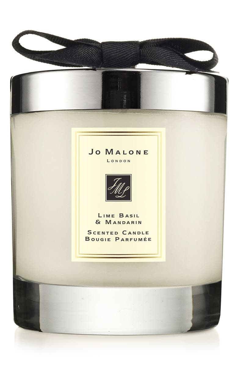 JO MALONE LONDON<SUP>™</SUP> Lime Basil & Mandarin Scented Home Candle, Main, color, No Color