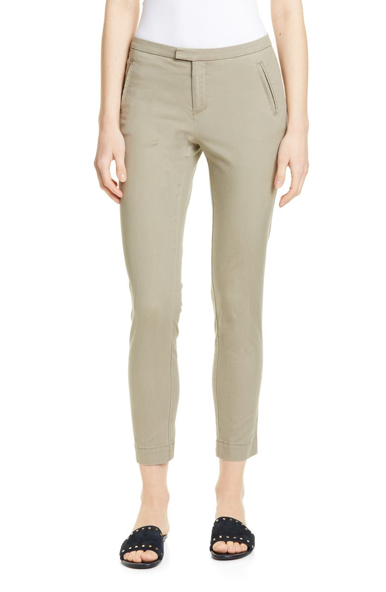 ATM ANTHONY THOMAS MELILLO Enzyme Wash Slim Pants, Main, color, FADED SAGE
