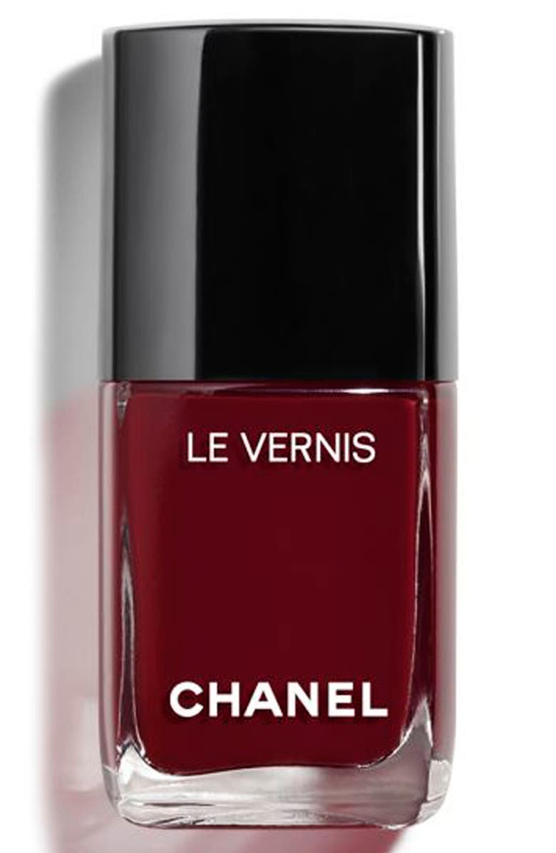 CHANEL LE VERNIS <br />Longwear Nail Colour, Main, color, INTERDIT