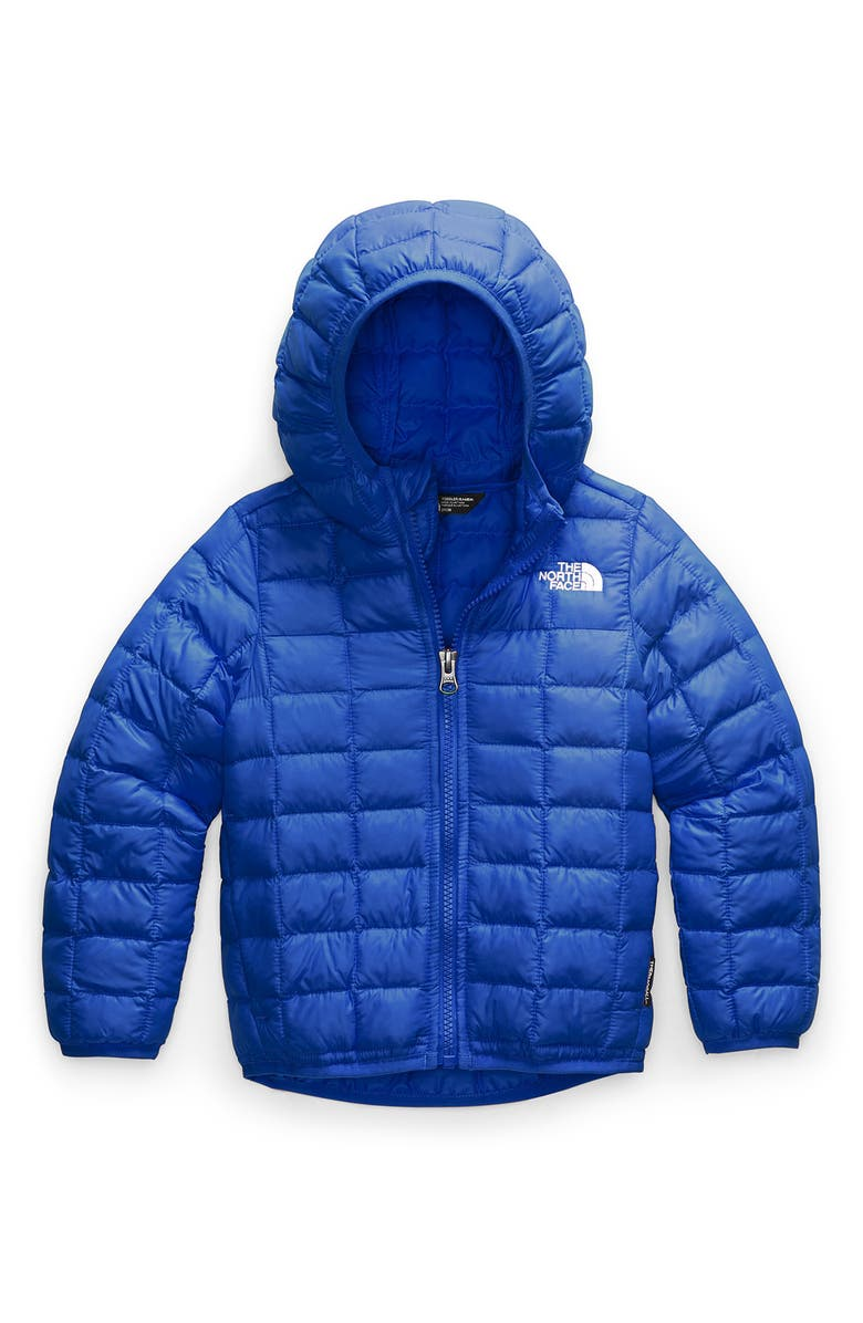 THE NORTH FACE Kids' ThermoBall<sup>™</sup> Eco Packable Jacket, Main, color, TNF BLUE/TNF WHITE