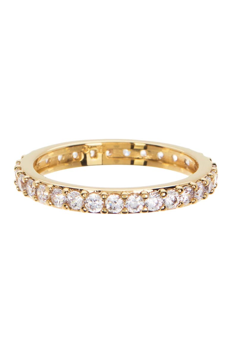 NADRI Eternity Band Ring - Size 7, Main, color, GOLD